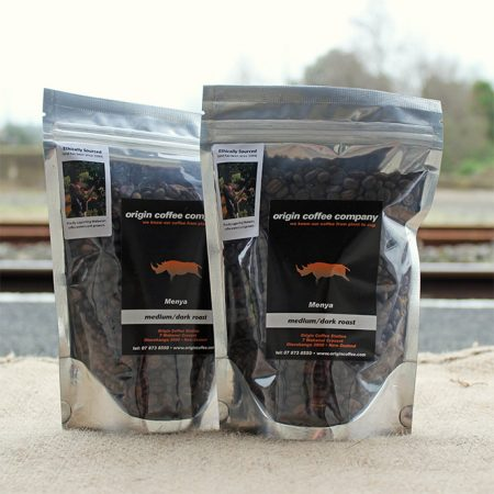 Medium Dark Origin Coffee Beans