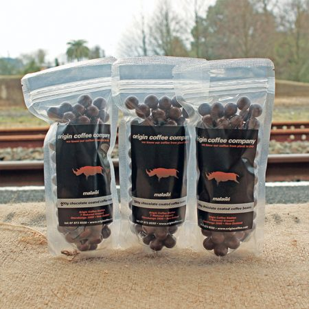 Origin Coffee Chocolate Coated Coffee Beans